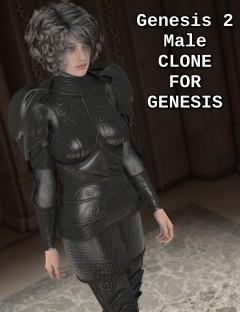 Genesis 2 Male Clone for Genesis
