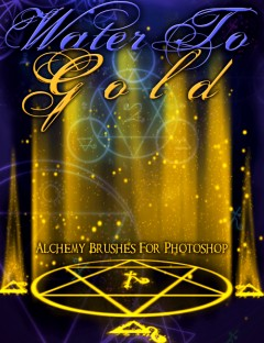 Water To Gold Alchemy Brushes
