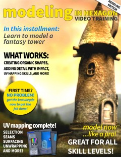 Modeling in Hexagon - Fantasy Tower