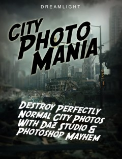 City Photo Mania- Destroy Photos With DAZ Studio