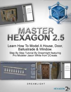 Master Hexagon- House Exterior Modeling