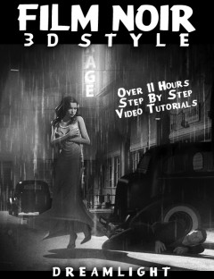 Film Noir 3D Style- Back To Black & White