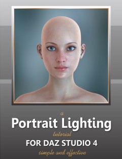 Portrait Lighting Tutorial for DAZ Studio 4