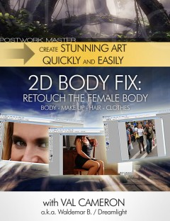 7.2 Great Art Now - 2D Body Fix - Retouch The Female Body