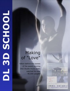 Dreamlight 3D School: Making of Love