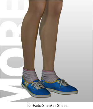 MORE Textures & Styles for Fads Sneaker Shoes
