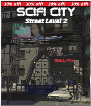SciFi City Street Level 2