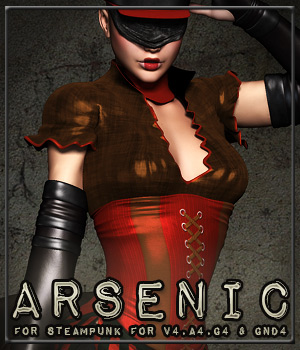 ARSENIC for Steampunk for V4,A4,G4 & GND4