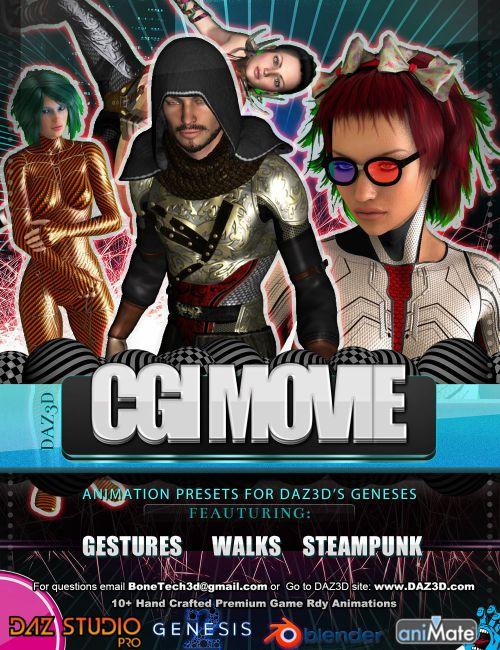CGI Movie Bones Vol.2