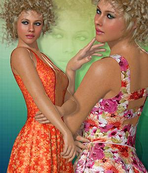 Color Splash for Summer Dress