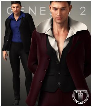 Formal Wardrobe for Genesis 2 Male(s)