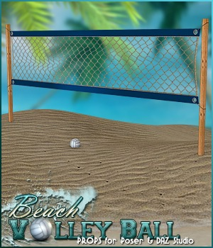 Beach Volley Ball- Props