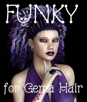 FUNKY for Gema Hair