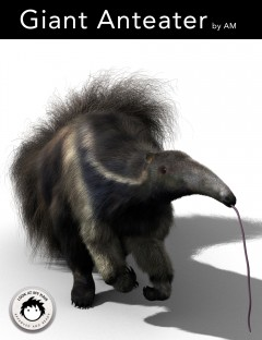 Giant Anteater by AM