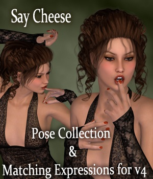 Say Cheese Poses and Expressions for V4