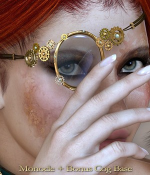 SteamPunk It Hot Monocle