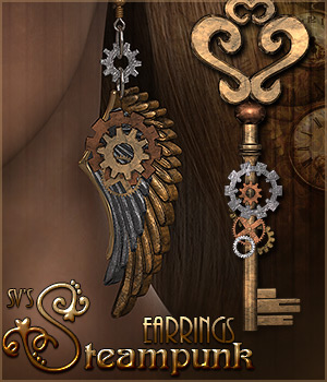 SV's Steampunk Earrings