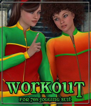 WORKOUT for 70s Jogging Suit