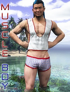 Muscle Boy for Genesis 2 Male(s)