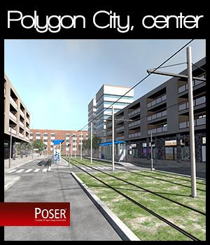 Polygon City, the City Center