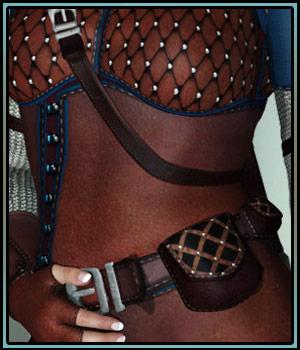"""Sword Woman for """"Fantasy Ranger for V4"""""""