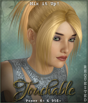 Touchable Short Ponytail