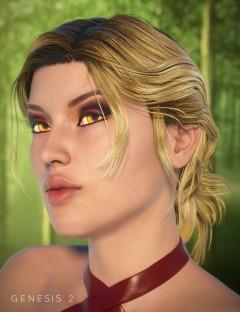 Char Hair for Genesis 2 Female(s)