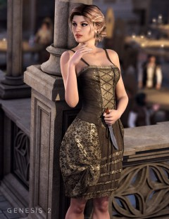 Francesca Dress for Genesis 2 Female(s)