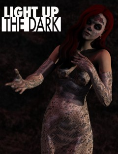 Light Up The Dark DAZ Studio Lights
