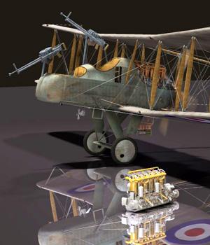 MS14 RAF FE b2 BI Plane