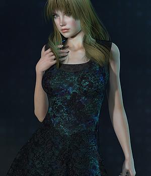 Lace Dress for V4