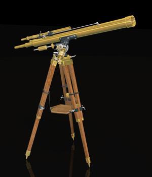 MS14 Antique Telescope Poser