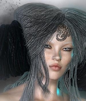 Glitteratti for Greek Fantasy I Hair