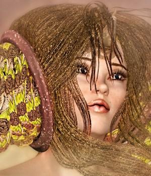 Glitteratti for Greek Fantasy I Horns & Spirals