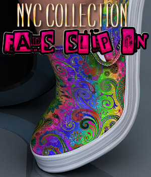 NYC Collection: Fads Slip On