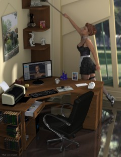Single Office Home Office