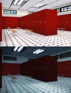 Locker Room Lights