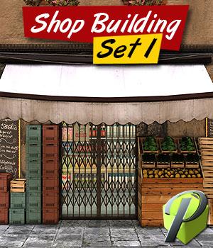 Shop Building Set 1