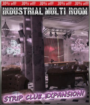 Apocalyptic Strip Club for IMR by 3-D-C
