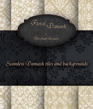Merchant Resource- Floral Damask