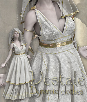 Vestale- Dynamic Clothes for Victoria 4