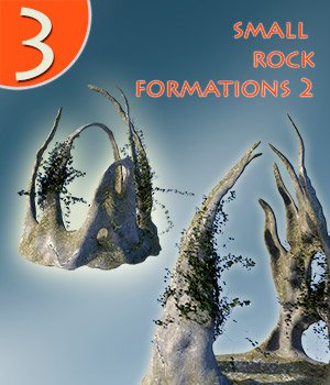 Small rock formations 2