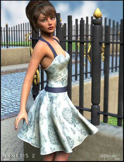 Clarice Dress For Genesis 2 Female(s) | Eveyday Clothing