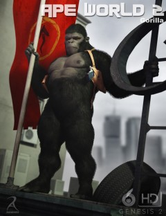 Ape World 2- Gorilla HD