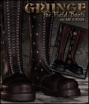 Grunge for Field Boots DS/Poser