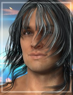 Kaylum Hair for Genesis 2