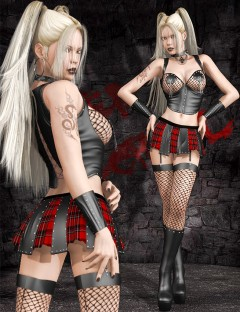 After School for Genesis 2 Female(s) and V4