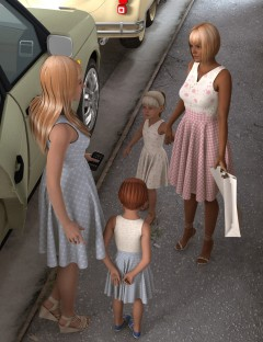 Cutie Pie Dress for Genesis 2 Female(s)