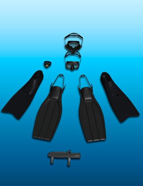 Daz3d Diving Gear