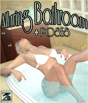 Z Alluring Bathroom + Poses